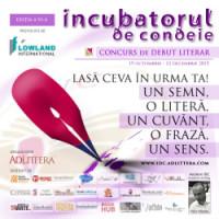 Concurs de debut literar – Incubatorul de condeie