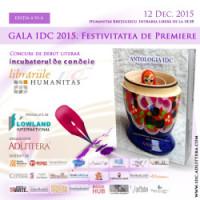 Gala IDC 2015 găzduită de Librăria Humanitas Kreţulescu