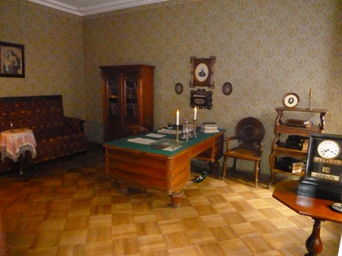 Biroul - Casa Memorială Dostoievski