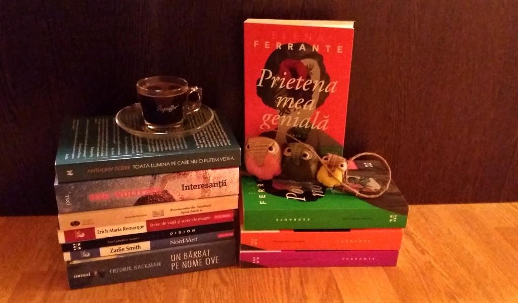 Bilanț cărți 2017 Bookish style